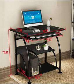 Home Office PC Corner Computer Desk Laptop Table Workstation