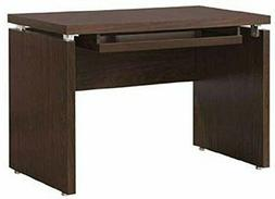 Coaster Home Furnishings Peel Computer Desk with Keyboard Tr