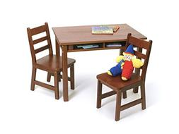 Lipper International Home Kitchen Child's Rectangle Table Wi