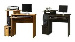 """HOME OFFICE 40"""" COMPUTER DESK / STUDENT DESK WITH KEYBOARD T"""