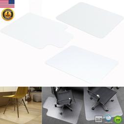 Home Office Computer Desk Chair Mat for Carpet PVC for Wood/