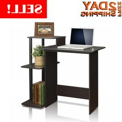 Home Office Computer Desk For Small Spaces Compact Office Fu