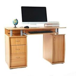Home Office Computer Desk Laptop PC Study Table With 3 Drawe