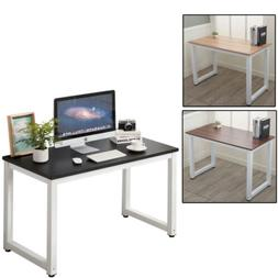 Home Office Computer Desk PC Laptop Table Metal Leg Workstat
