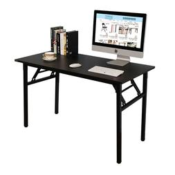 Need Home Office Desk 47 inch No Assembly Folding Desk Compu