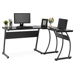 Best Choice Products 3-Piece Home Office L-Shaped Corner Com