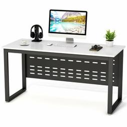 Home Office Morden Computer Desk Table File Cabinet Set with