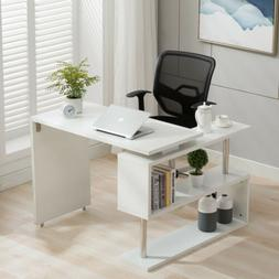 home office rotating computer desk workstation study