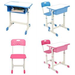 Hot Style Desk Chair Set Student Adjustable 2 Colors Child S