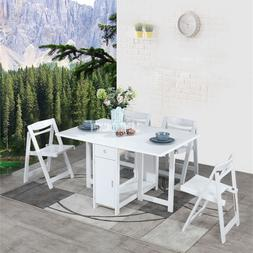 Household Solid Wood Table <font><b>Chair</b></font> Set Mod