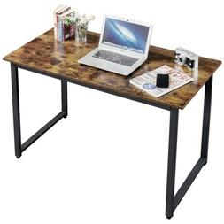 Industrial Computer Desk Home Office Writing Desk PC Laptop