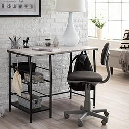 Study Zone II Desk and Chair, Black/Gray