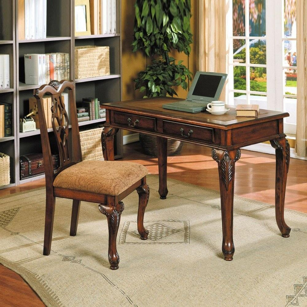 09650 aristocrat writing desk chair