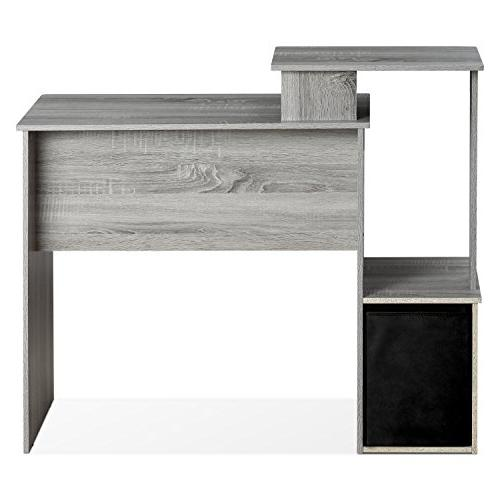 Furinno Home Computer Desk with Oak