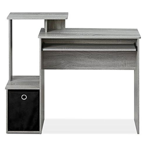 Furinno Home Office Computer Desk with Oak Grey
