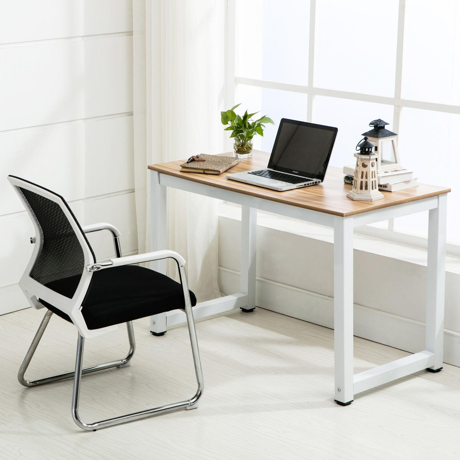 """44"""" Wood PC Laptop Table Office"""