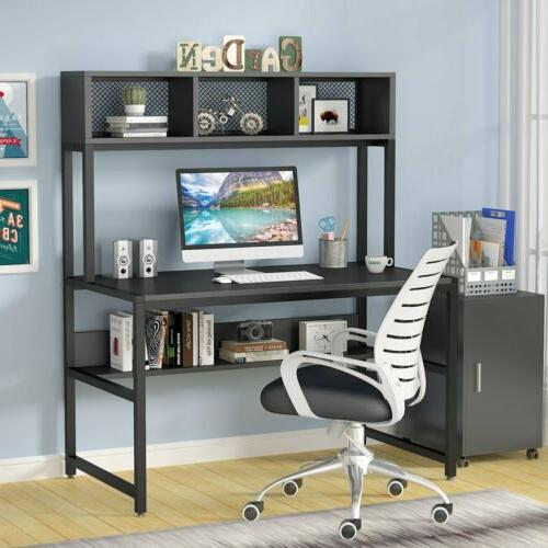Workstation with Shelf Gaming Writing