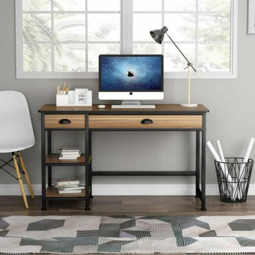 Computer Desk with Drawers &Storage