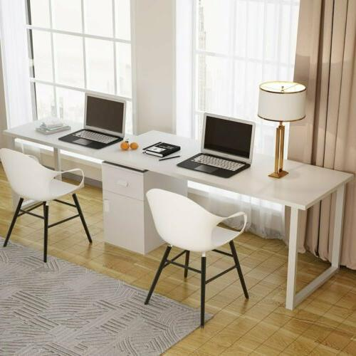 Tribesigns Rotating L-Shape Desk High-function Writing Table
