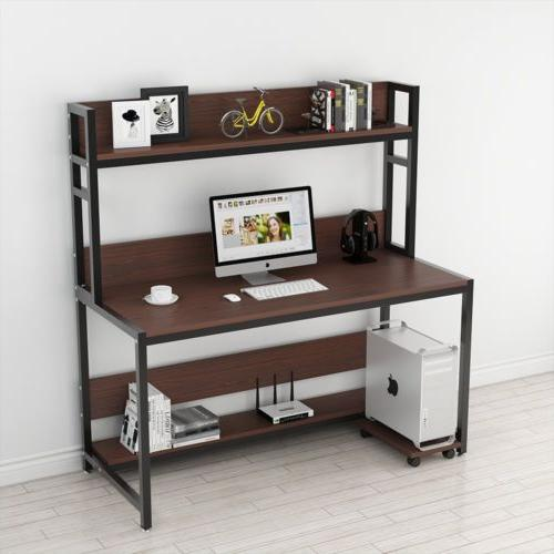 Tribesigns 55'' Desk with Cherry