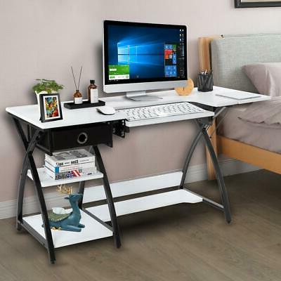 2 in 1 Sewing Craft Table Computer Desk Adjustable Platform