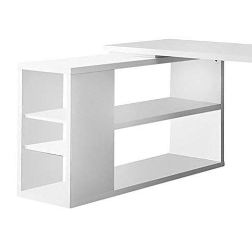 Monarch Hollow-Core or Corner Desk, White