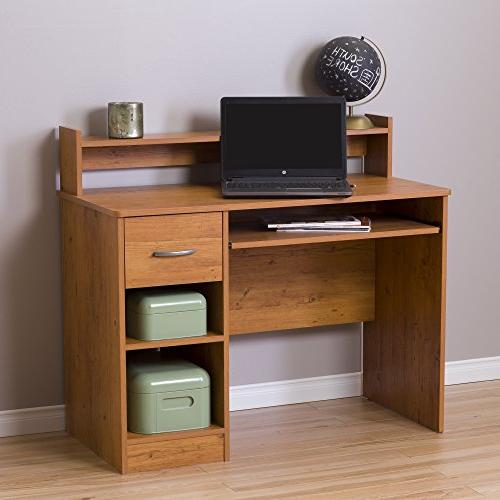South Workstation Desk Country Pine