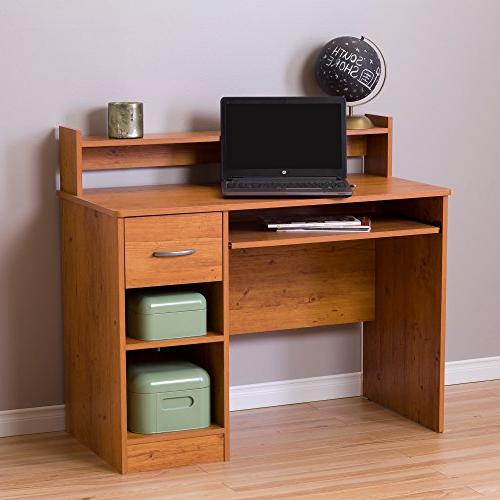 South Shore - Axess Workstation Desk - Country Pine