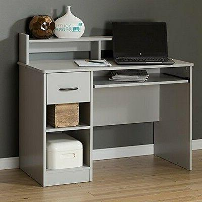 South Shore - Axess Workstation Desk - Soft Gray