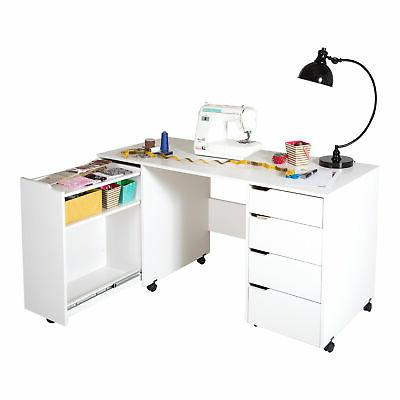 South Shore - Crea Sewing Craft Table