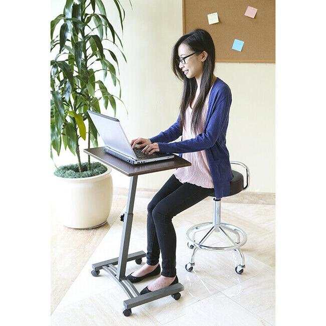 SEVILLE CLASSICS LAPTOP COMPUTER DESK HEIGHT-ADJUSTABLE