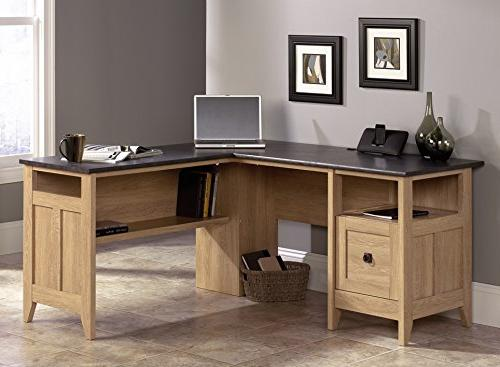 august hill l shaped desk