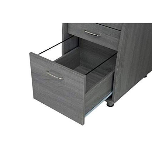 Techni Mobili Complete Computer Desk with Storage