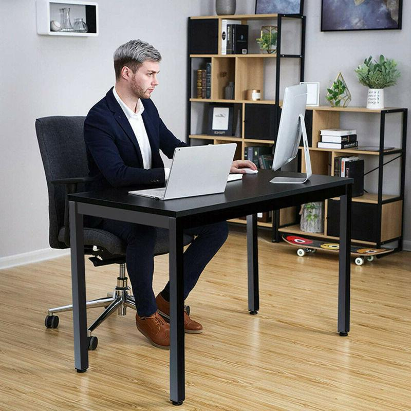 Wood Computer Desk PC Laptop Writing Table Workstation Home