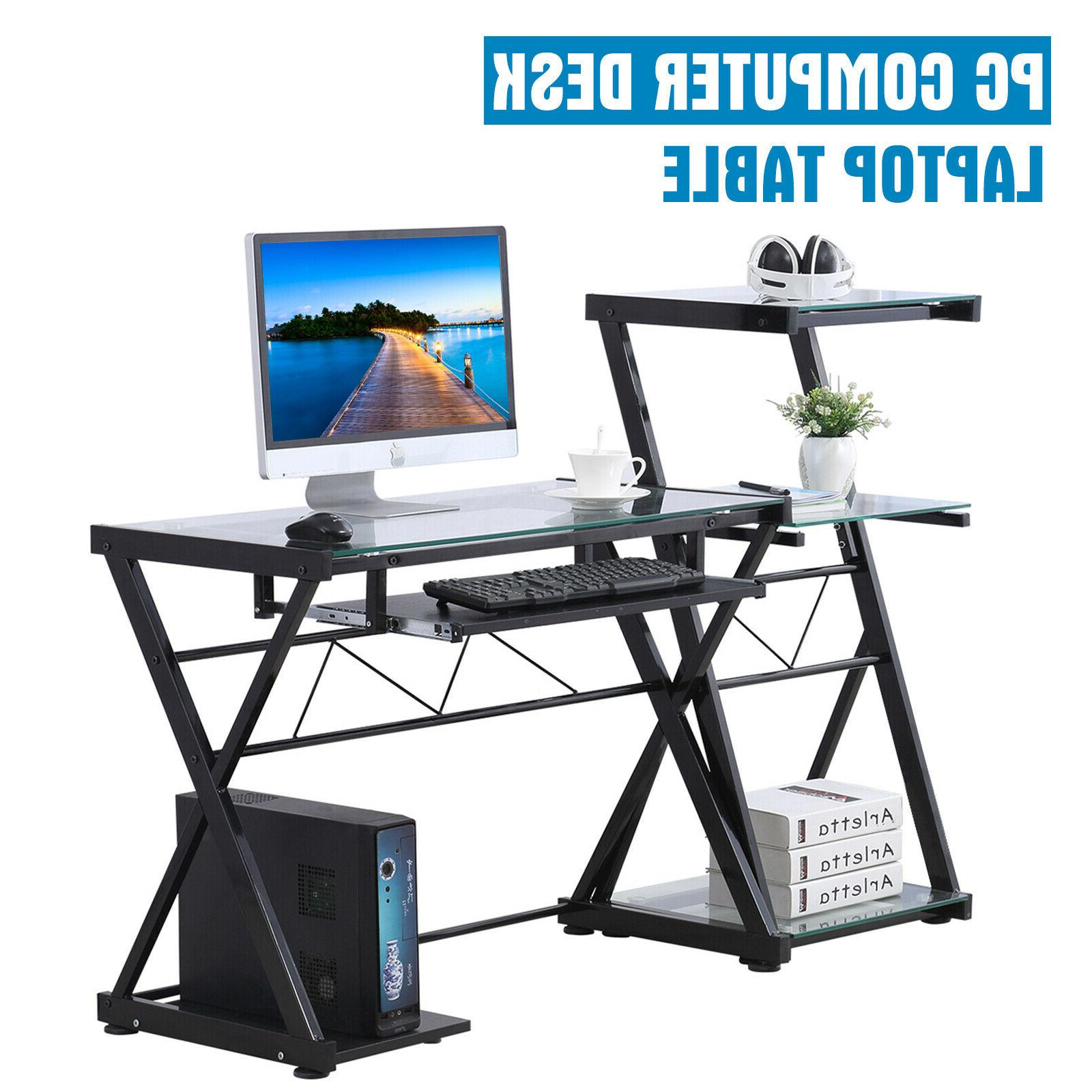 computer desk corner pc laptop table student