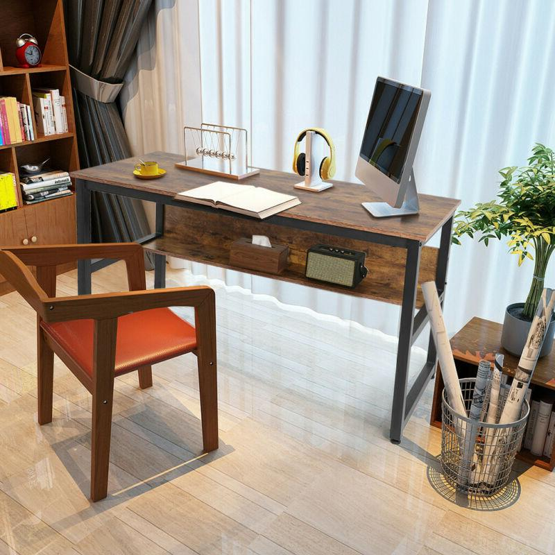 Computer Desk PC Laptop Table Writing Workstation Home Offic