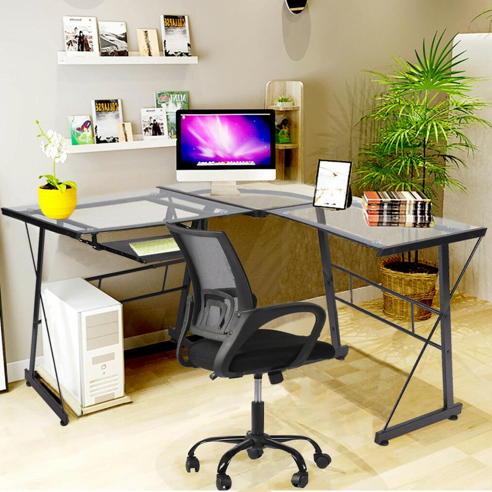 Computer Shaped Desk Writing Furniture With