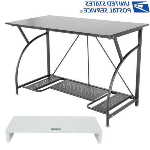 computer desk pc laptop table riser workstation