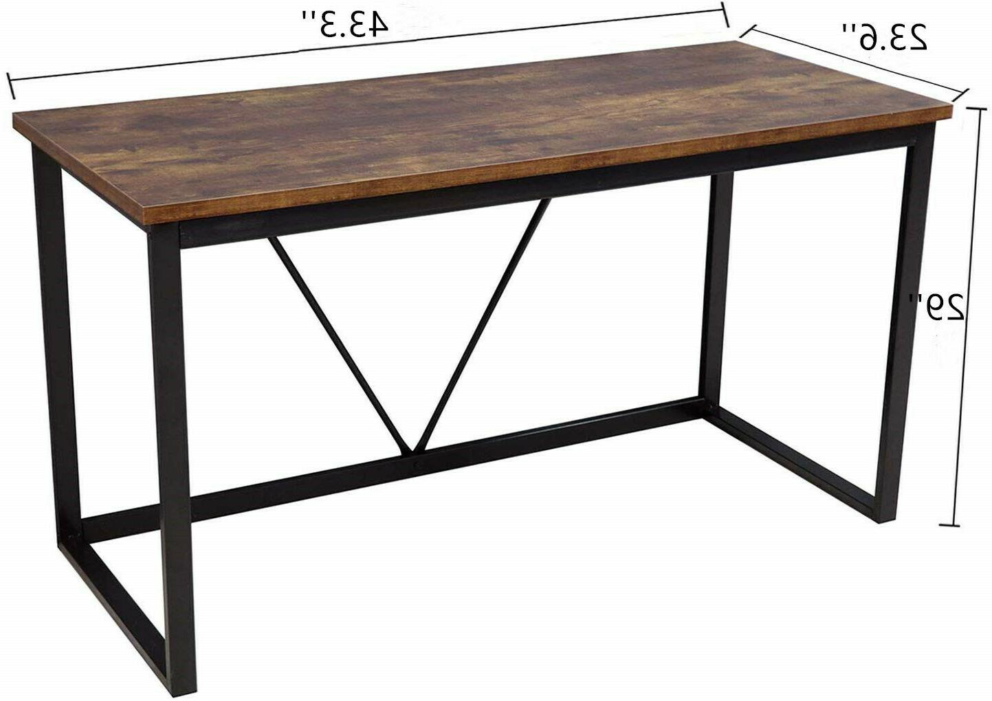 Computer Laptop Table Study Wood Home Furniture