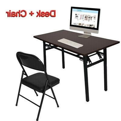 computer desk pc laptop table wood workstation