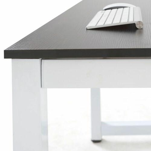 Computer Table Workstation Office Black