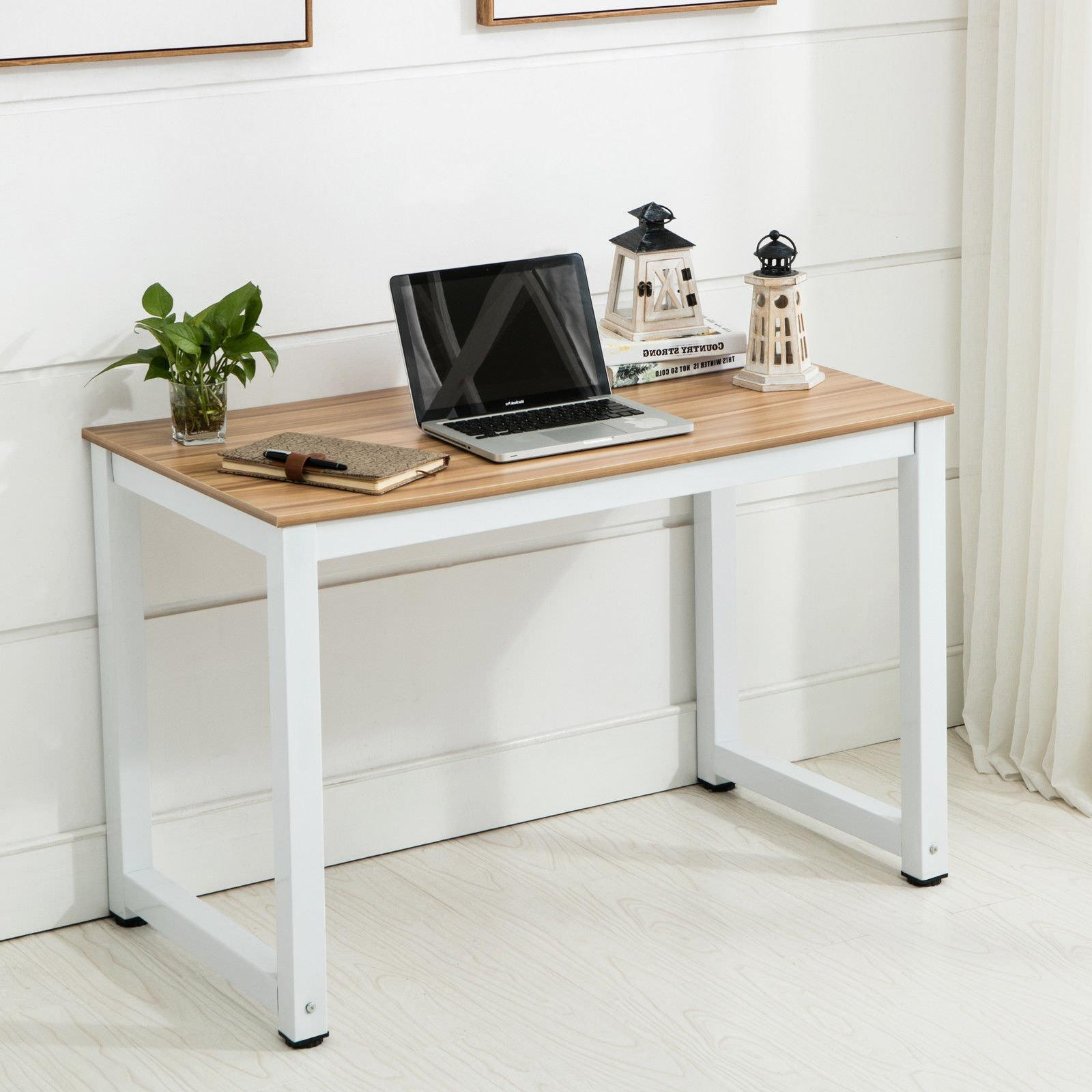 Computer Desk PC Wood Workstation Study Home Office