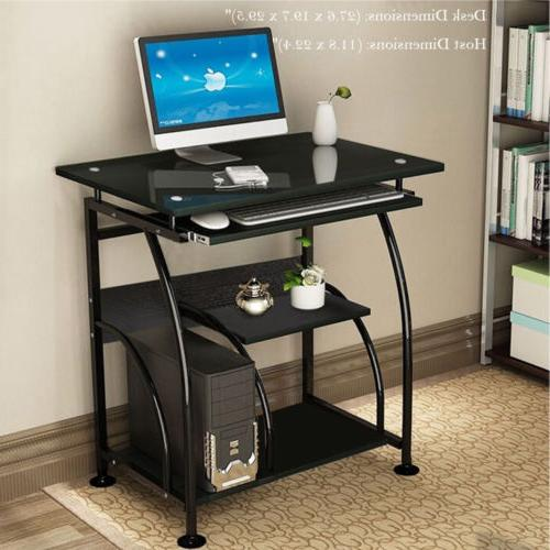 computer desk pc laptop writing table workstation