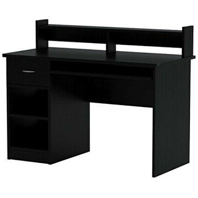 computer desk spaces women drawer