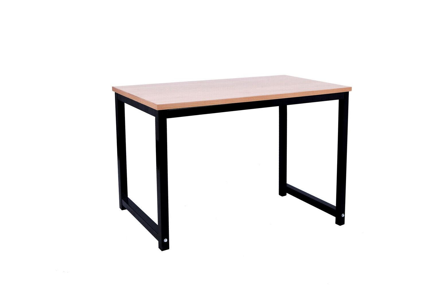 computer desk table with wooden for office