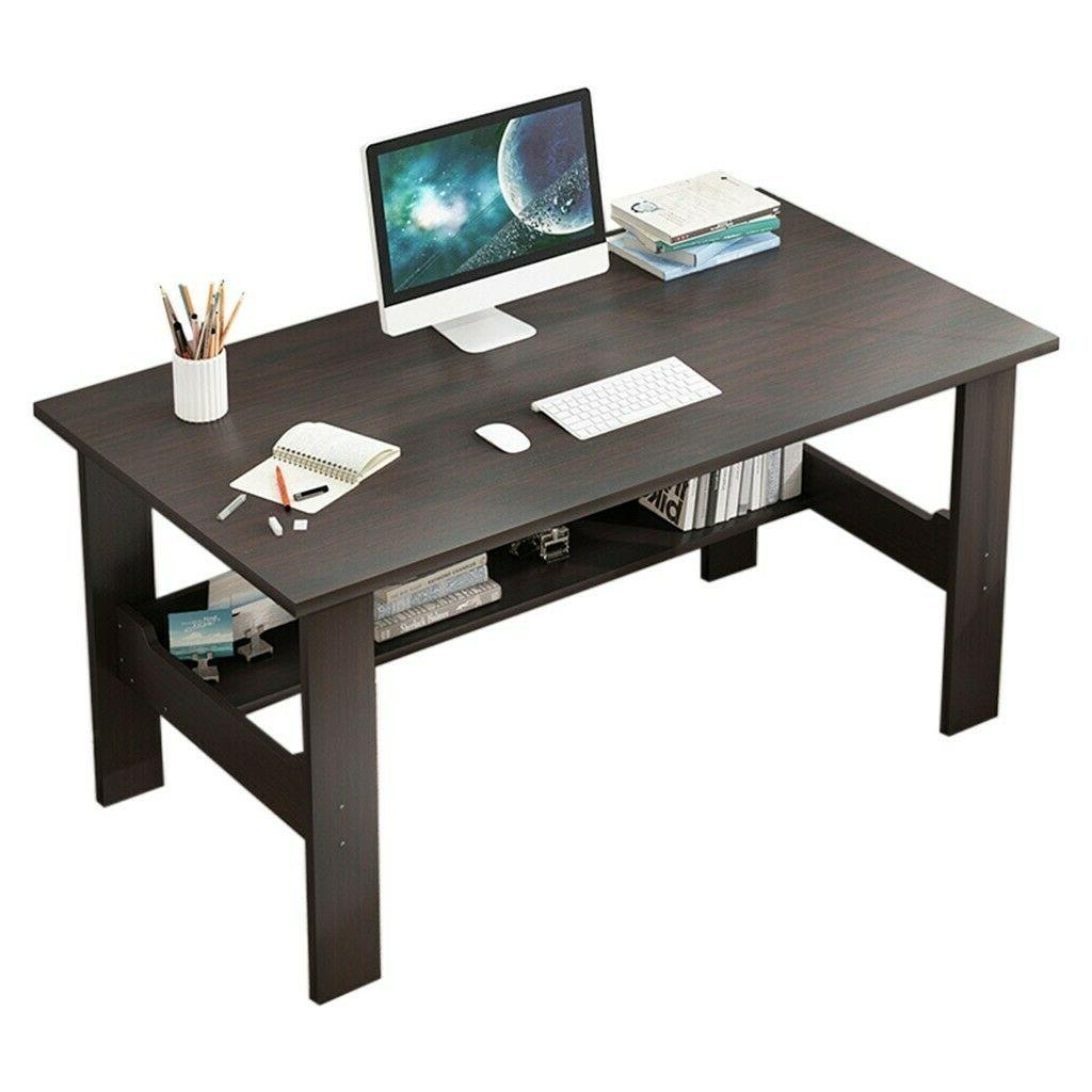 Computer Desk Table Workstation Home Office Student Dorm Lap
