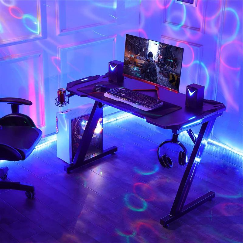 Computer Racing Gaming Home Office Gamer W/ LED Lights
