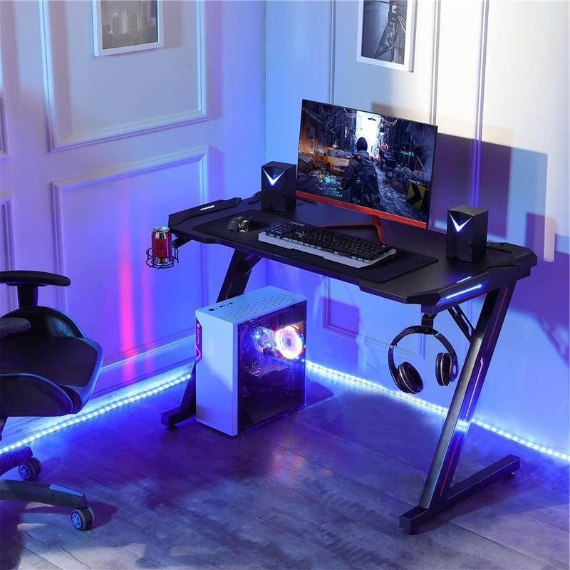 Computer Home Gamer Tables W/ Lights