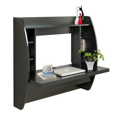 Mounted Bookshelf Storage Black