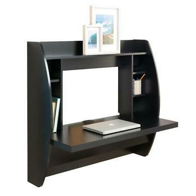 Coner Mounted Computer Laptop Bookshelf Storage